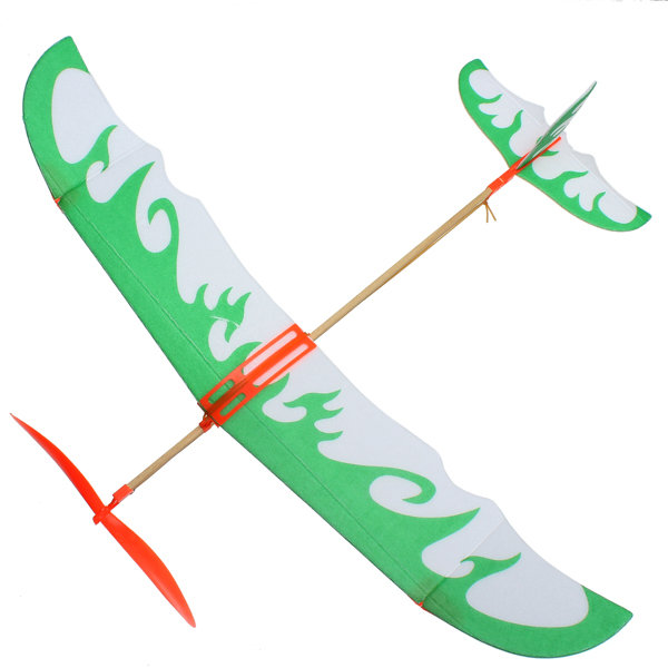 Thunderbird Teenagers Aviation Model Planes Powered By Rubber Band Beach Toys