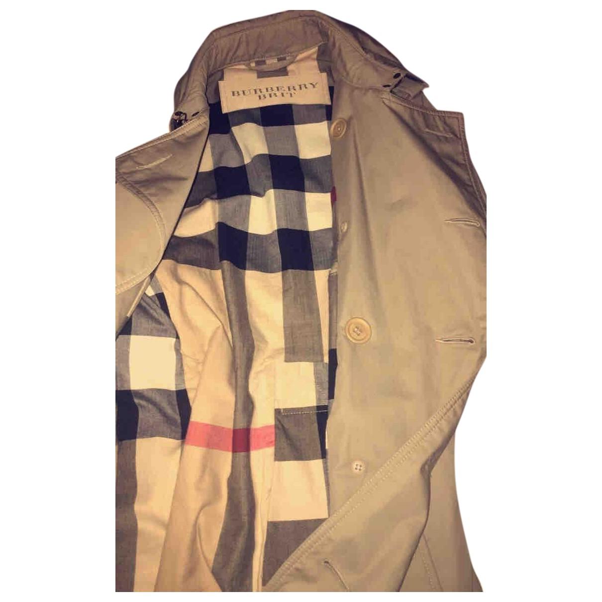 Burberry N Beige Cloth coat  for Men S International