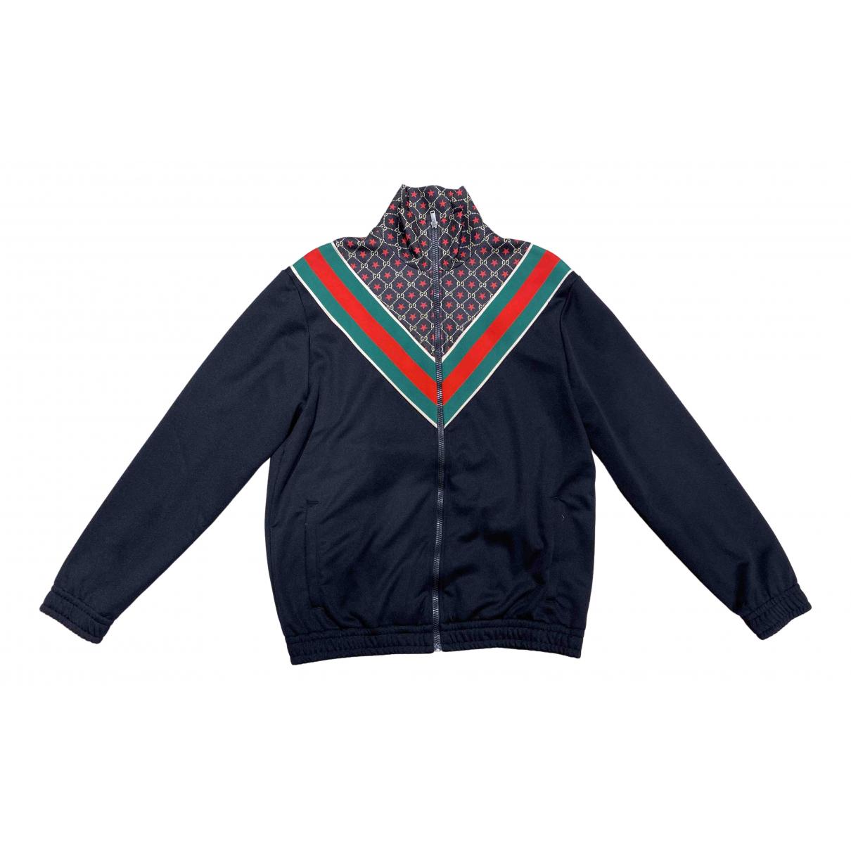 Gucci \N Pullover.Westen.Sweatshirts  in  Schwarz Synthetik