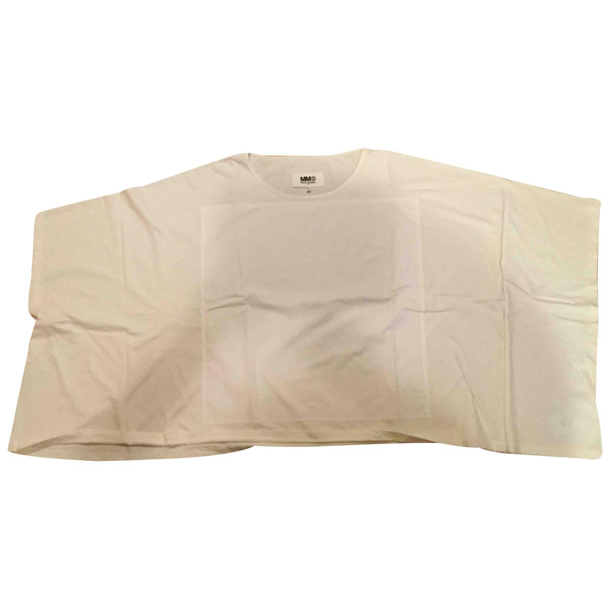 Maison Martin Margiela N White Cotton Knitwear for Women 44 IT