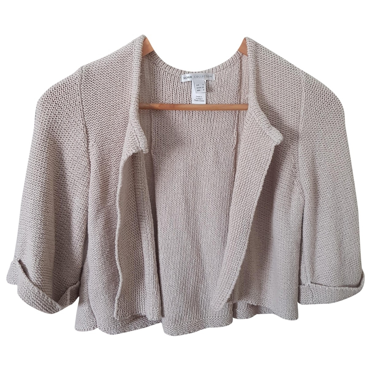 Mango \N Beige Knitwear for Women 36 FR