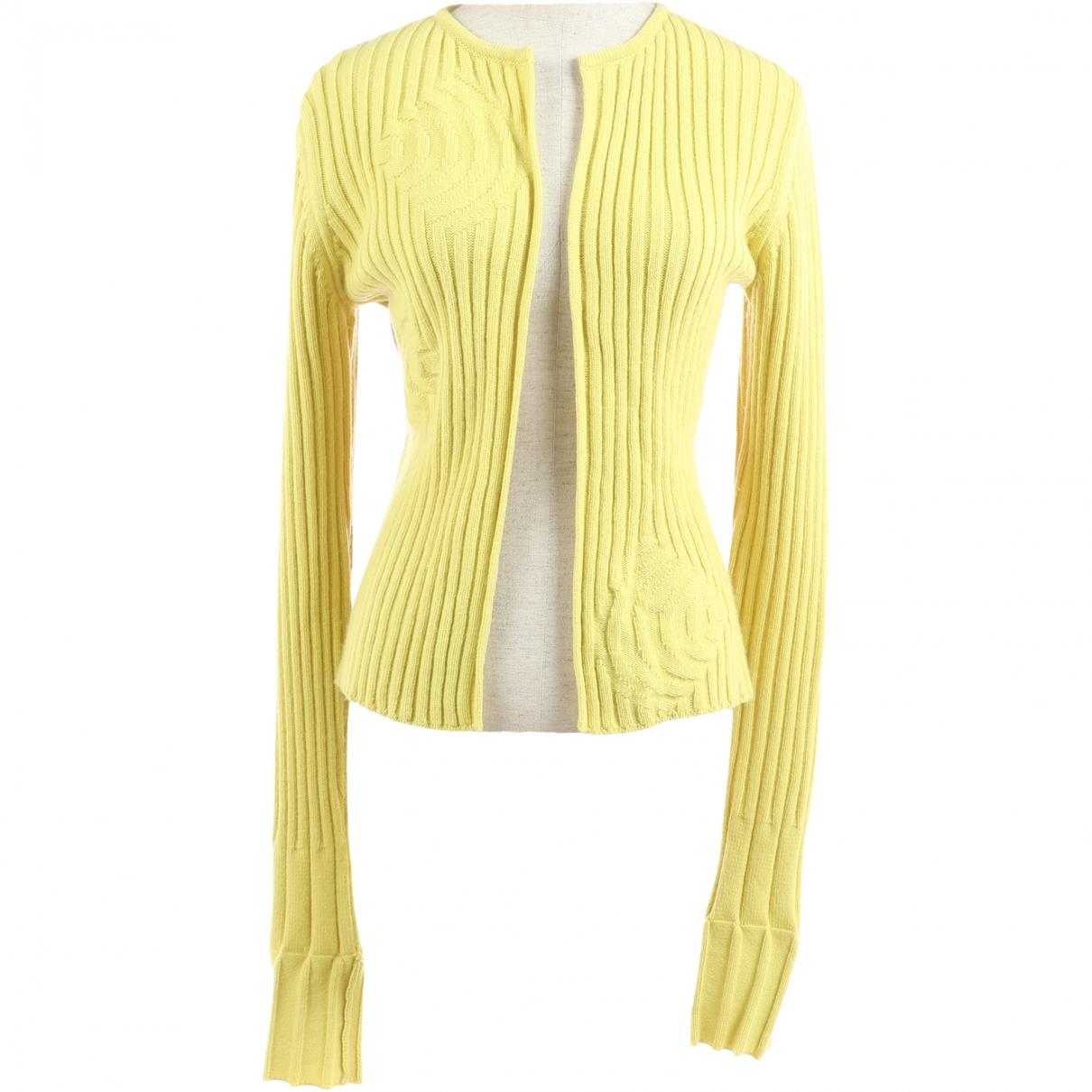 Fendi - Pull   pour femme en laine - vert