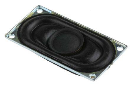 RS PRO 8Ω 2W Miniature Speaker, 40 x 20 x 5.8mm