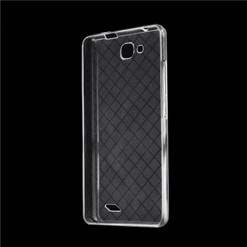 Original Silicone Protective Cover Soft Case Phone Shell For Oukitel C3 Smartphone - Transparent