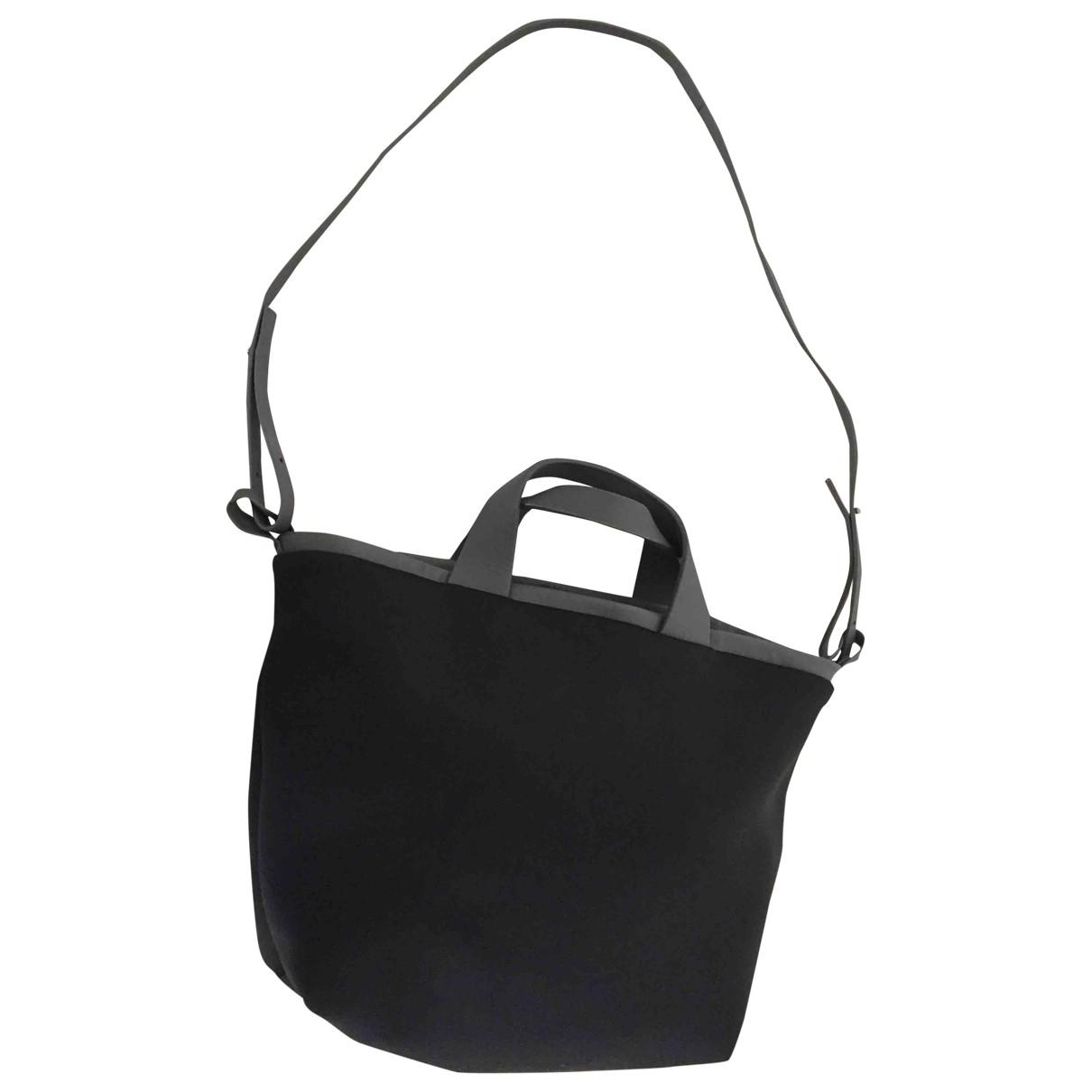 Fausto Santini \N Black Leather handbag for Women \N
