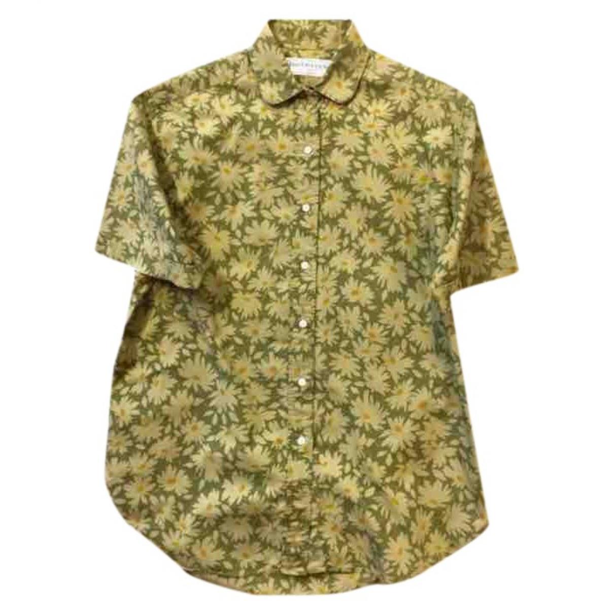 Burberry \N Khaki Cotton  top for Women 42 FR