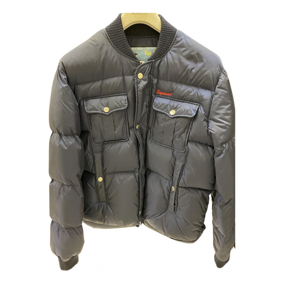 Dsquared2 - Manteau   pour homme - marine