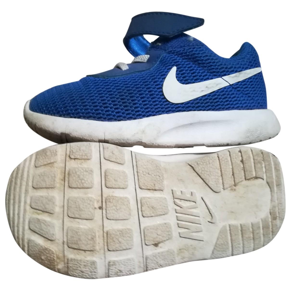 Nike \N Blue Cloth Trainers for Kids 23 EU