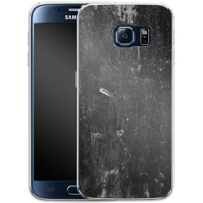 Samsung Galaxy S6 Silikon Handyhuelle - Grundge von caseable Designs