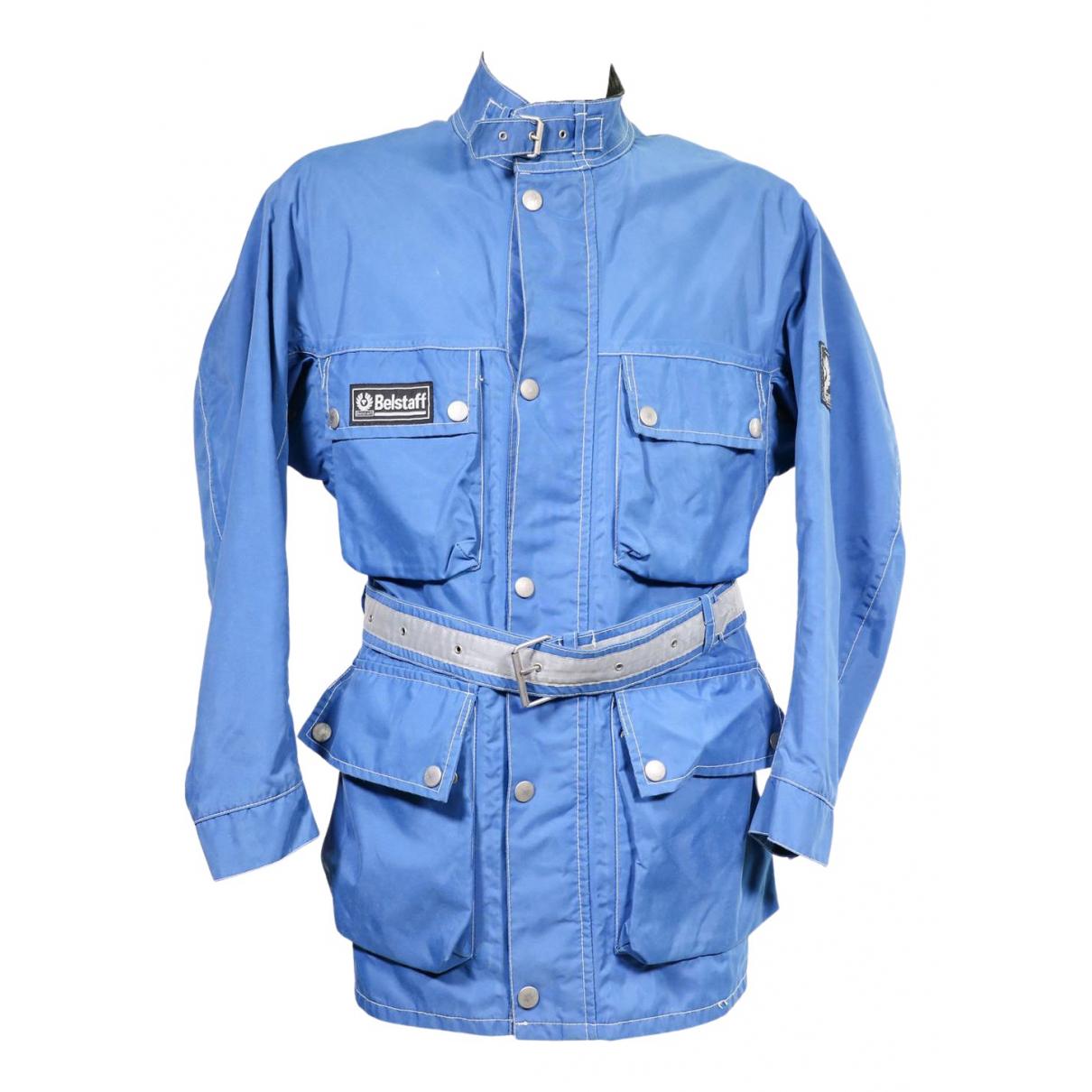 Belstaff \N Jacke in  Blau Baumwolle