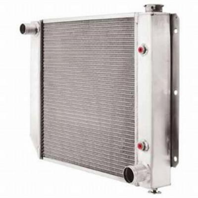 Be Cool Aluminum Conversion Radiator for GM V8 Engines with Manual Transmission - 60030