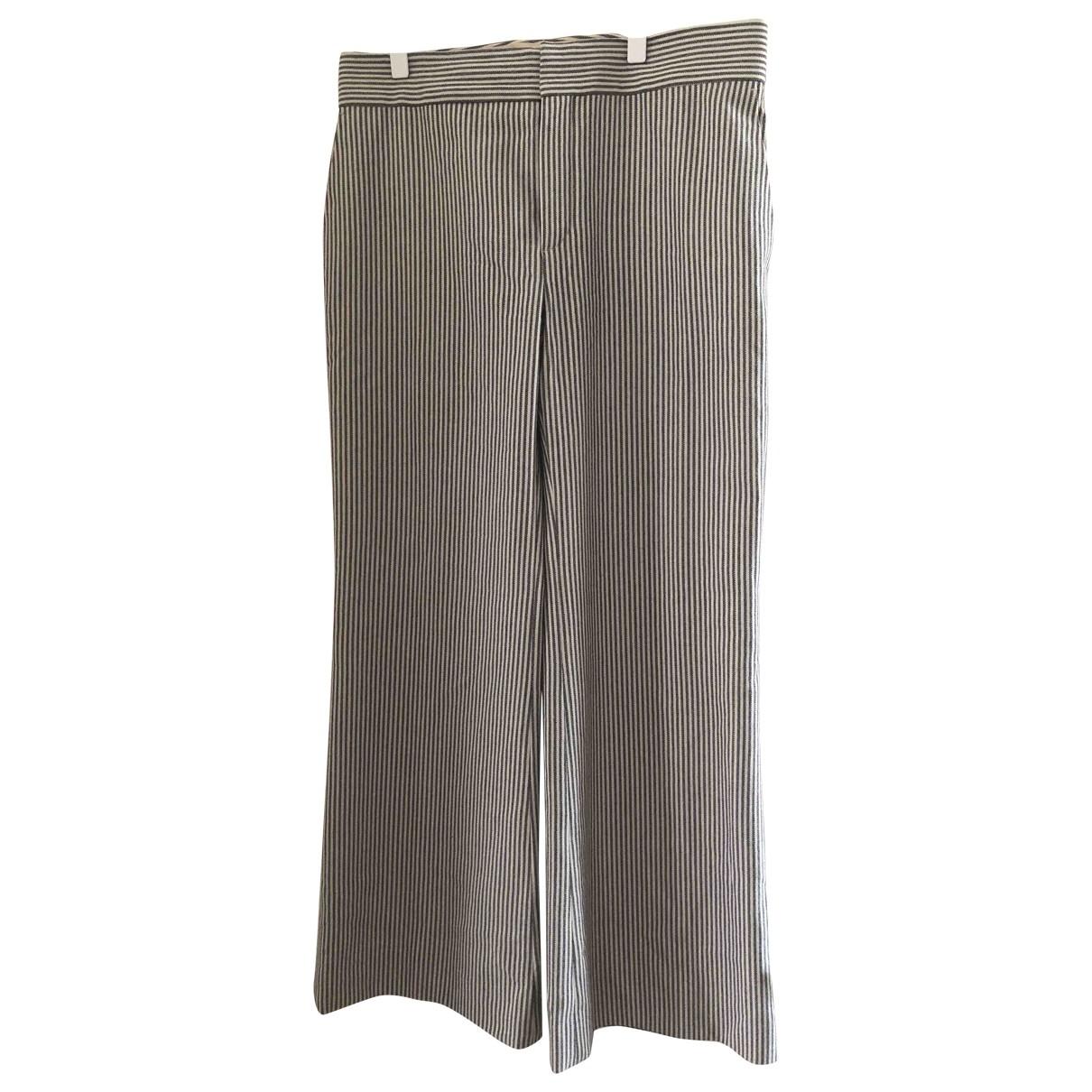 Chloe - Pantalon   pour femme en laine - bleu