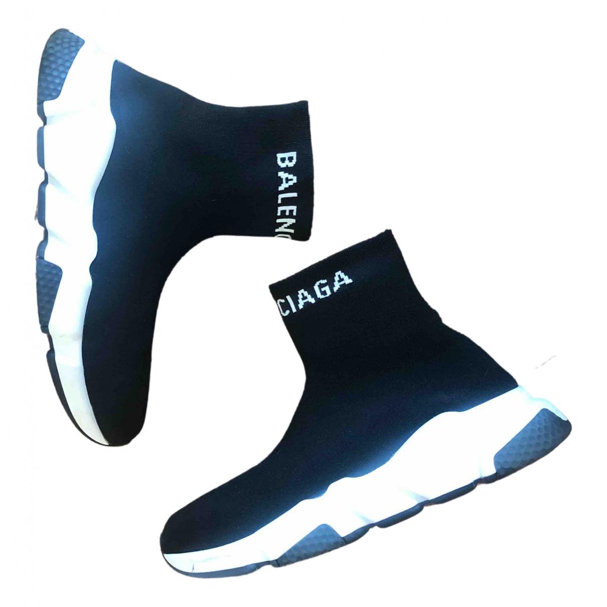 Balenciaga \N Black Cloth Trainers for Women 36 EU