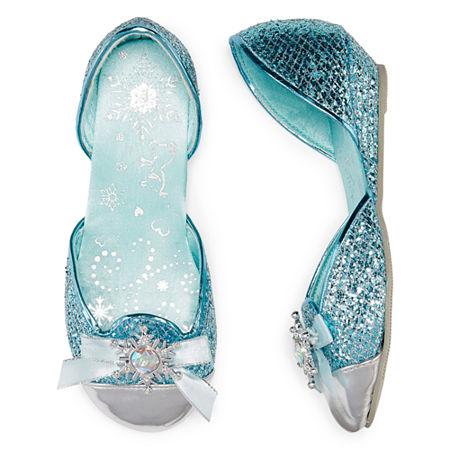 Disney Collection Elsa Costume Shoes - Girls, 2-3 , Blue