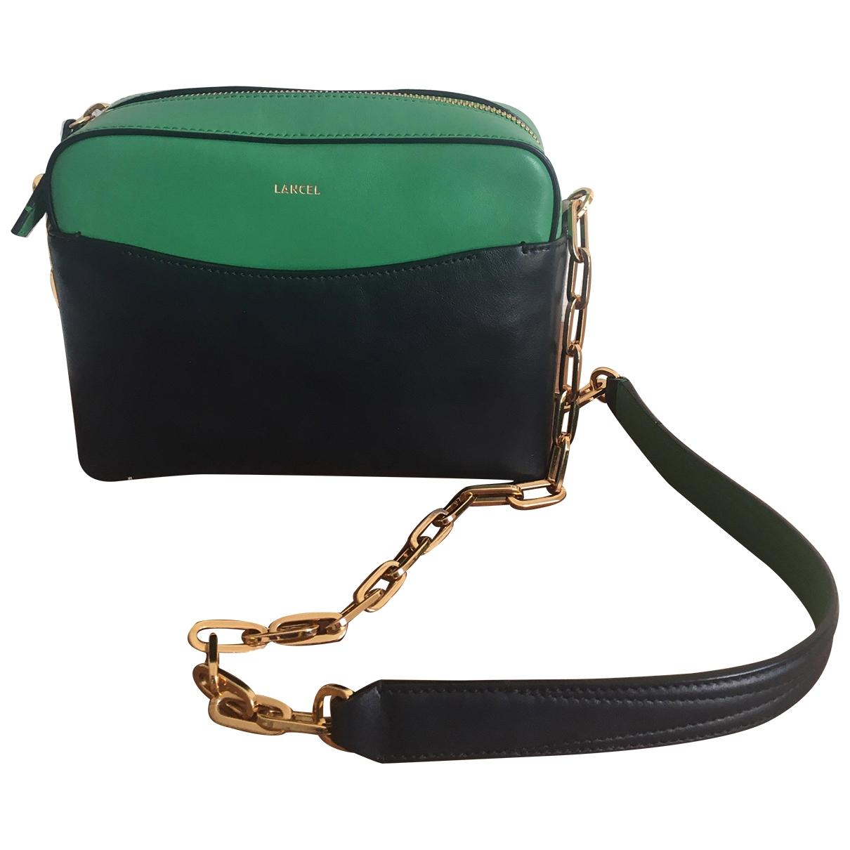 Lancel \N Handtasche in  Gruen Leder