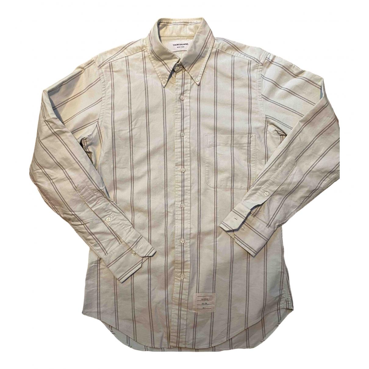 Thom Browne - Chemises   pour homme en coton - vert