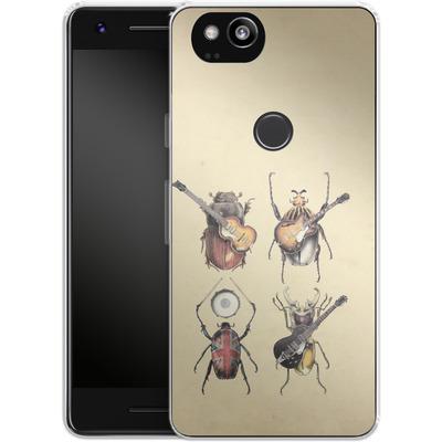Google Pixel 2 Silikon Handyhuelle - Meet The Beetles von Eric Fan