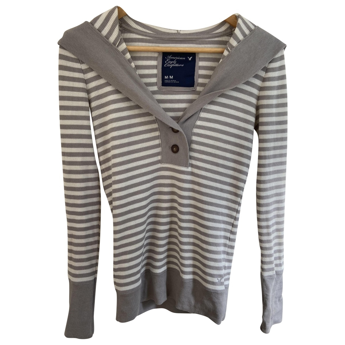 American Outfitters \N Beige Cotton  top for Women M International