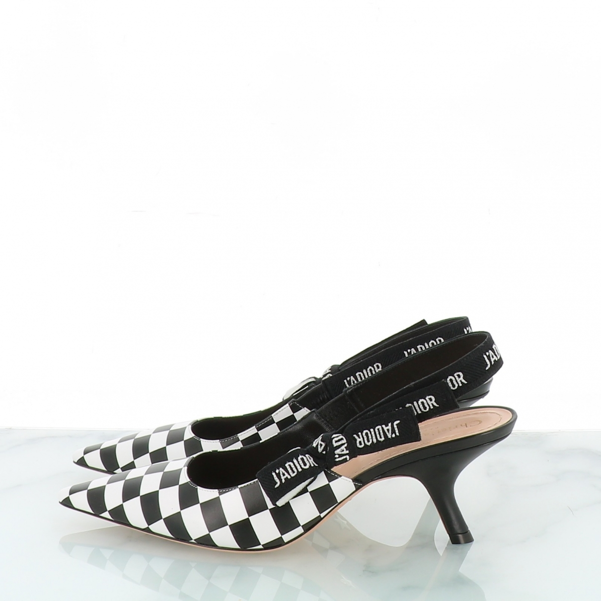 Dior - Escarpins J'adior pour femme en cuir - noir
