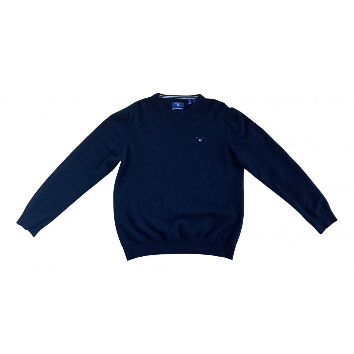Gant N Black Cotton Knitwear & Sweatshirts for Men L International