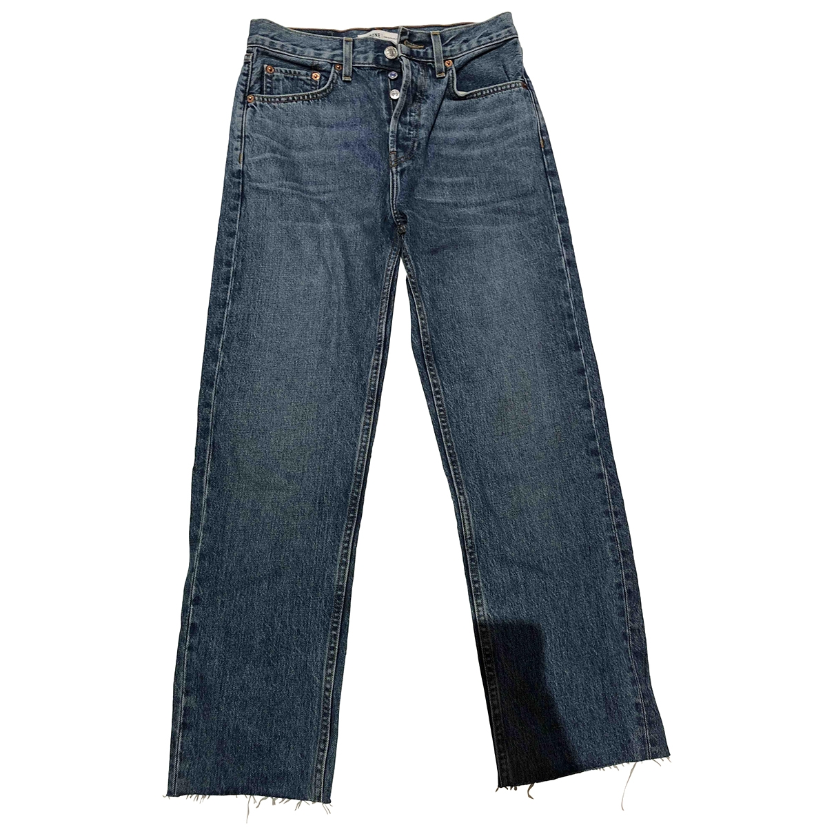 Re/done \N Blue Denim - Jeans Jeans for Women 25 US