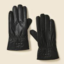 1 Paar Einfarbige Handschuhe