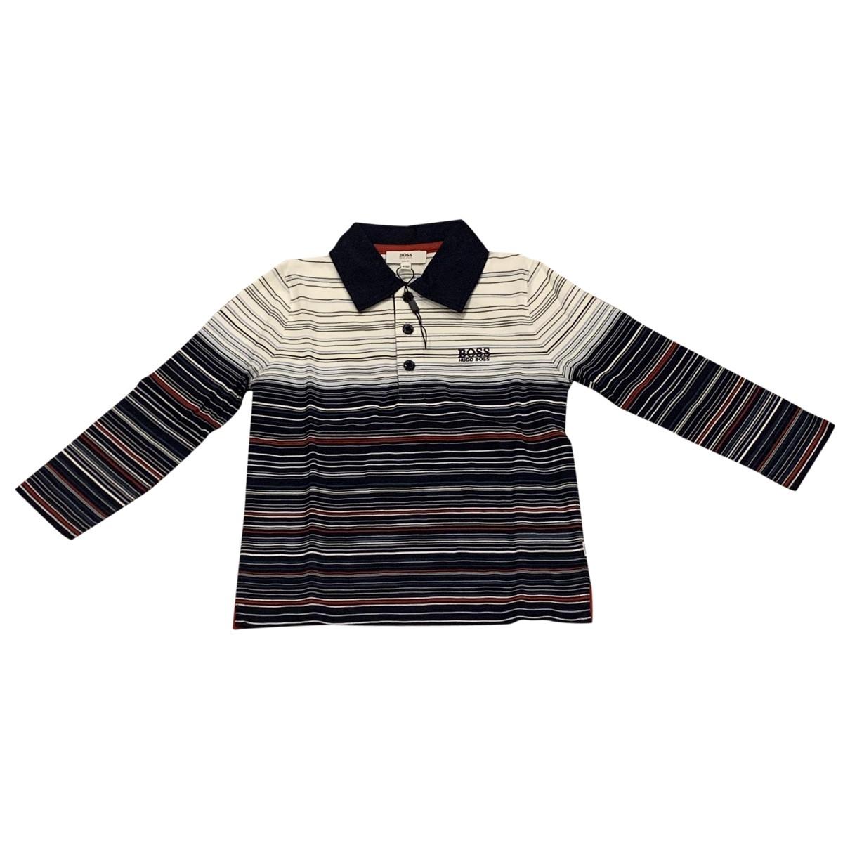 Boss - Pull   pour enfant en coton
