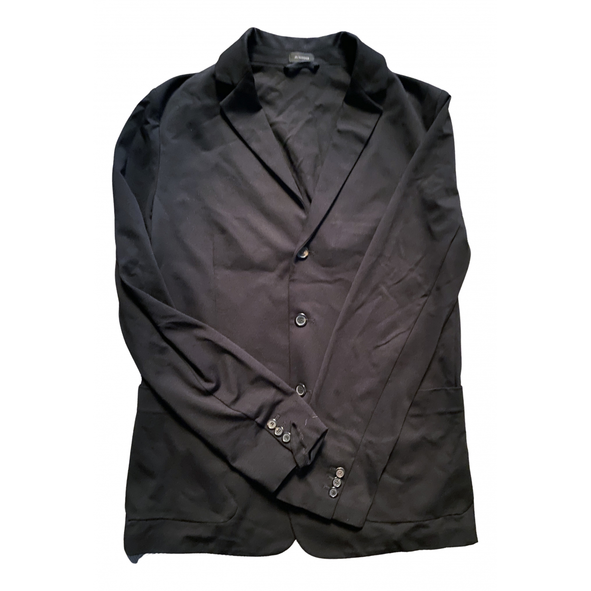 Jil Sander N Black Cotton jacket  for Men 48 IT