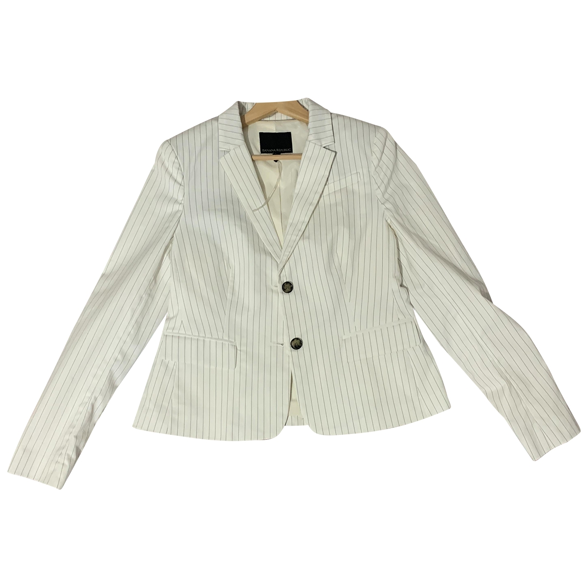 Banana Republic \N Trench in  Weiss Polyester