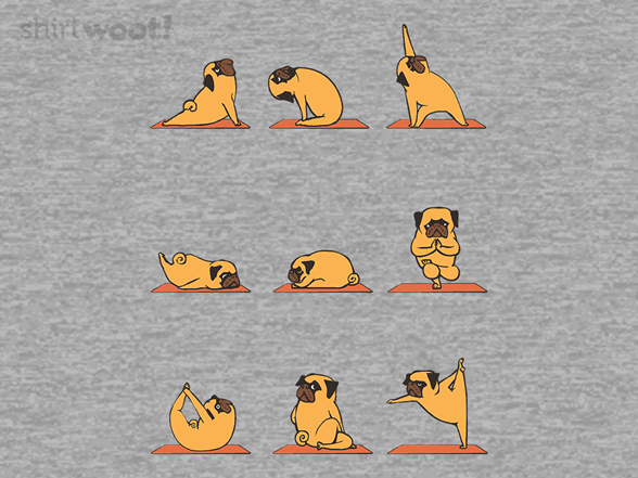 Pug Yoga Remix T Shirt