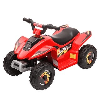 6V Electric Ride On ATV Car Kids Toy Battery Power 4 Wheels w/Music (Red)