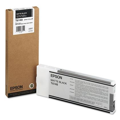 Epson T614800 cartouche d'encre originale noire mat
