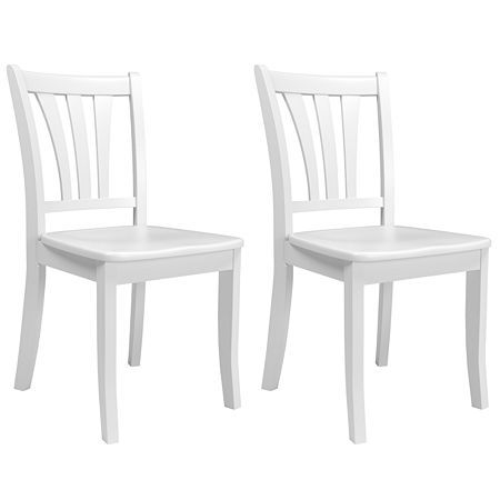 2-pc. Side Chair, One Size , White