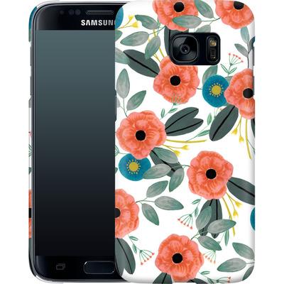 Samsung Galaxy S7 Smartphone Huelle - Poppy Dream von Iisa Monttinen