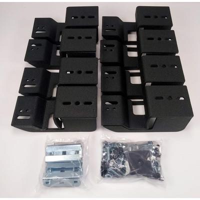 Iron Cross Automotive Brackets for HD Steps (Black) - 99-522