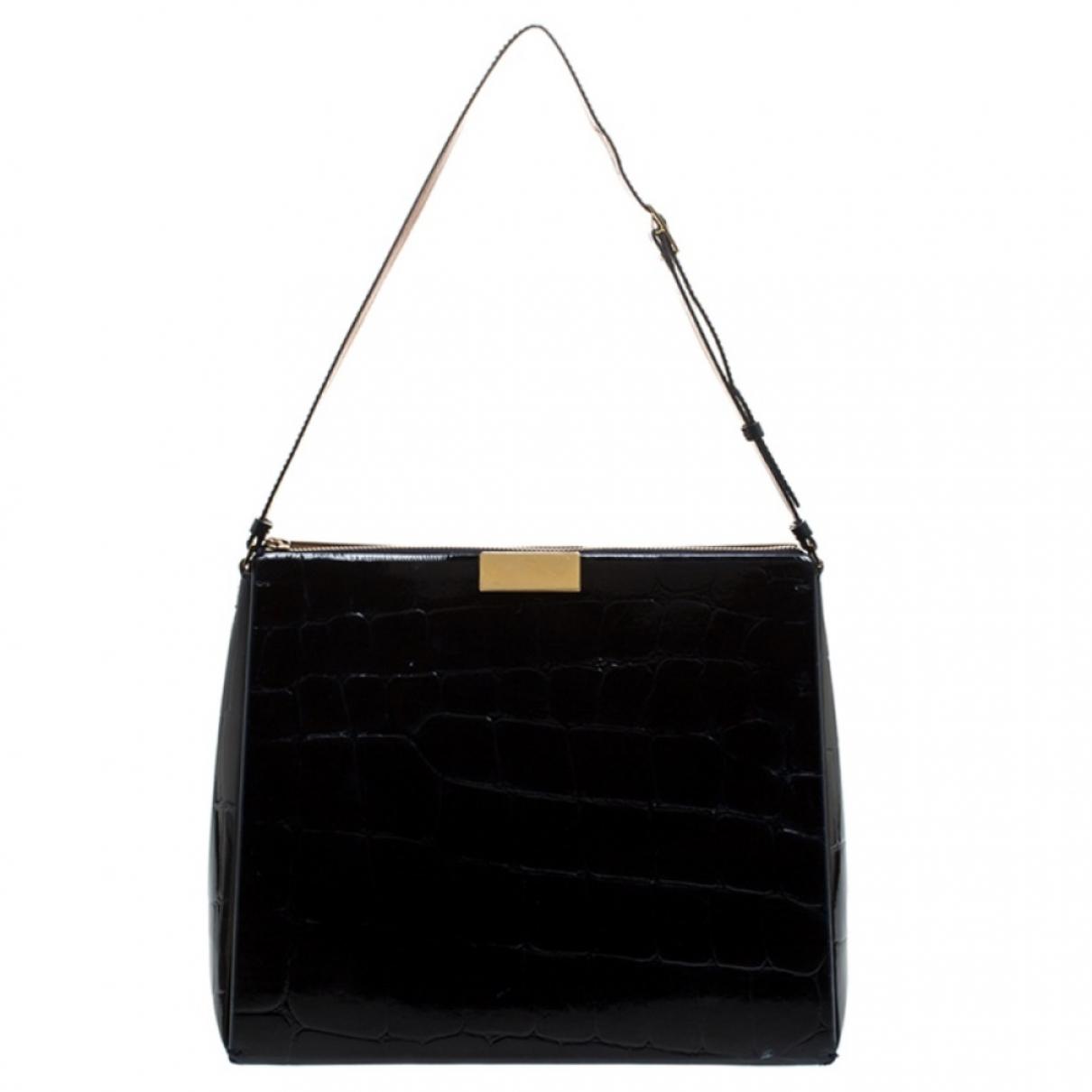 Stella Mccartney \N Handtasche in  Schwarz Leder