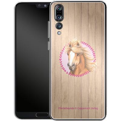 Huawei P20 Pro Silikon Handyhuelle - Pferdefreunde Herzen von Pferdefreunde