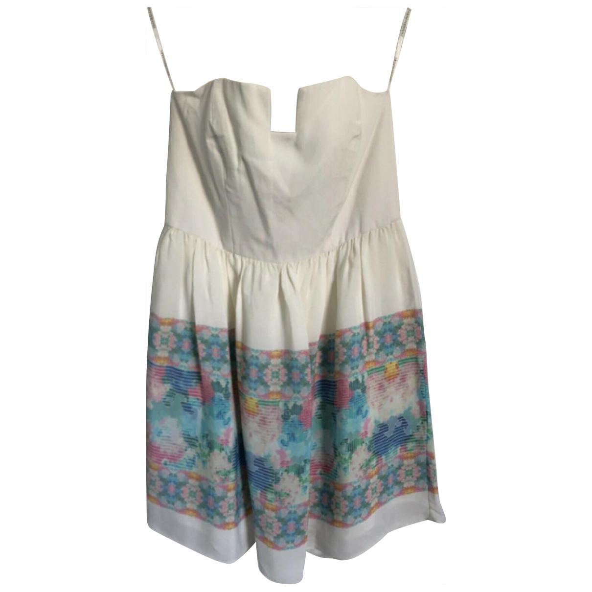 Zimmermann \N Kleid in  Weiss Viskose