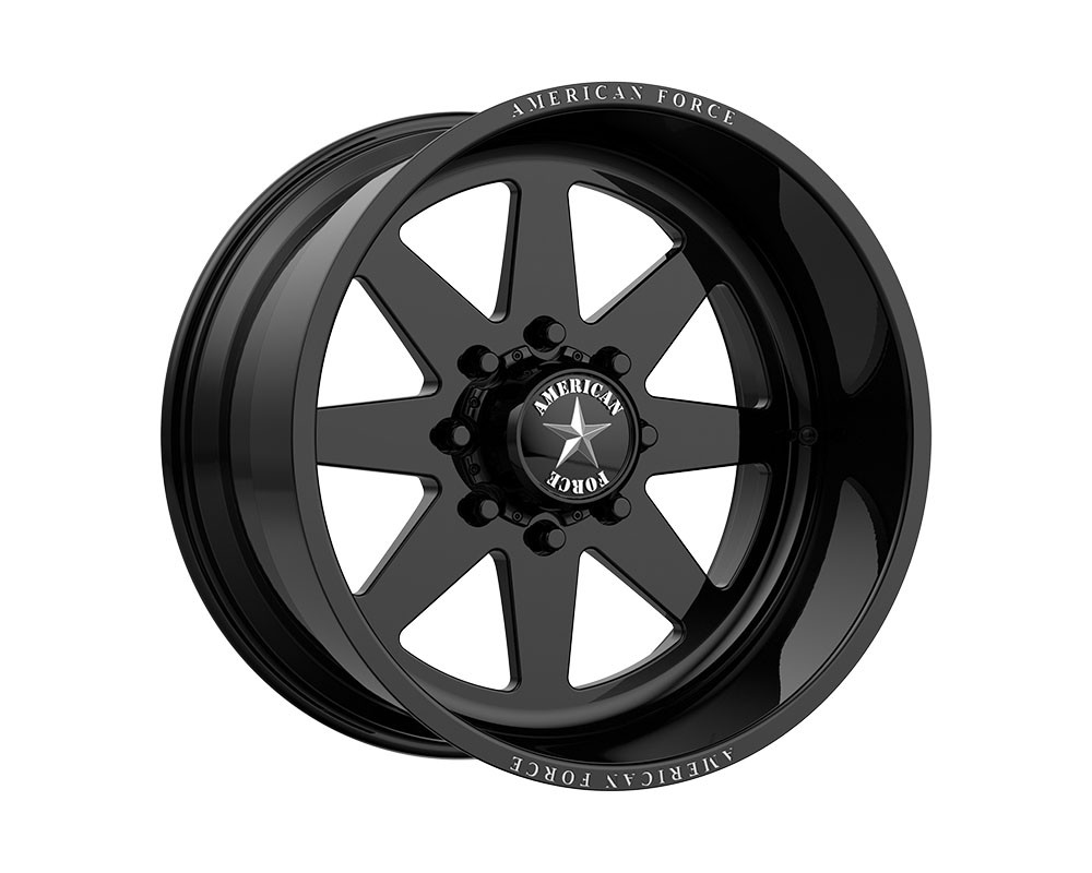 American Force AFTJ11D22-2-20 AFW 11 Independence SS Wheel 22.00x12.00 8x165.10 -40mm Gloss Black