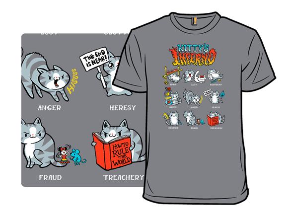 Kitty's Inferno T Shirt