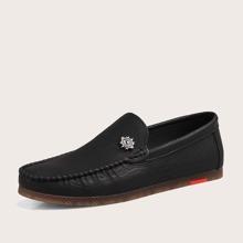 Loafers mit Augen Dekor