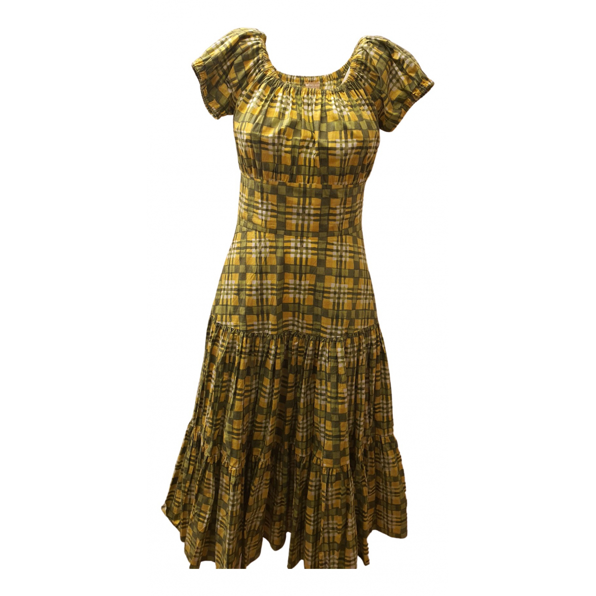 Michael Kors - Robe   pour femme en coton - vert