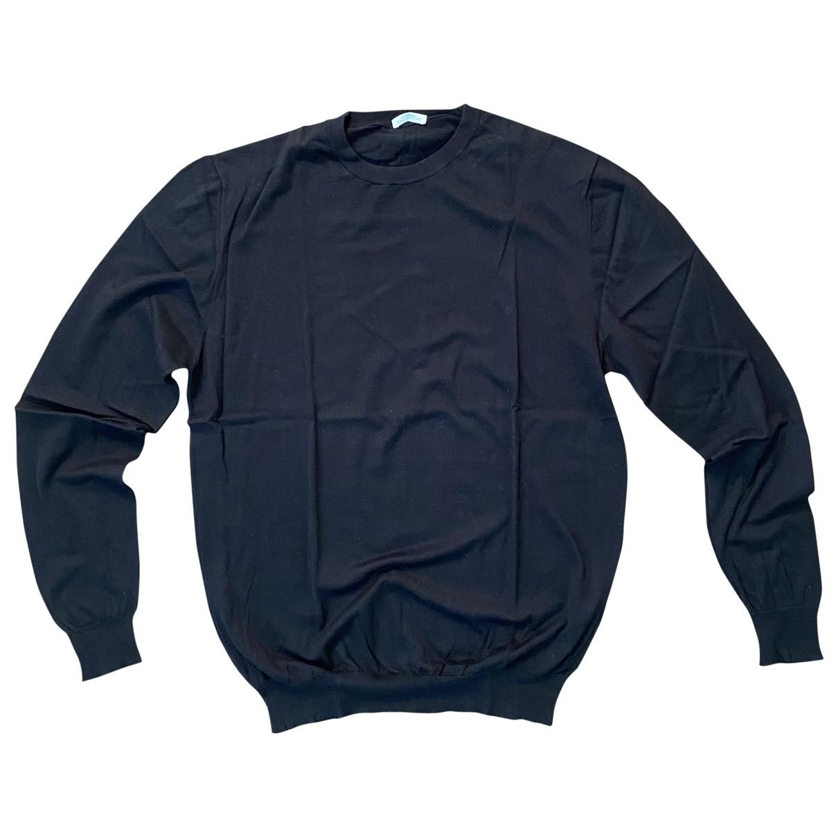 Ballantyne \N Pullover.Westen.Sweatshirts  in  Schwarz Kaschmir