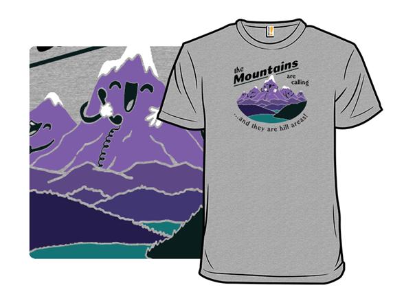 Cheeky Peaks T Shirt