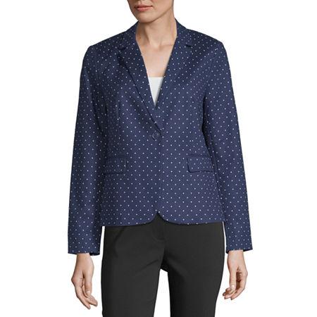 Liz Claiborne Suit Jacket, Small , Blue
