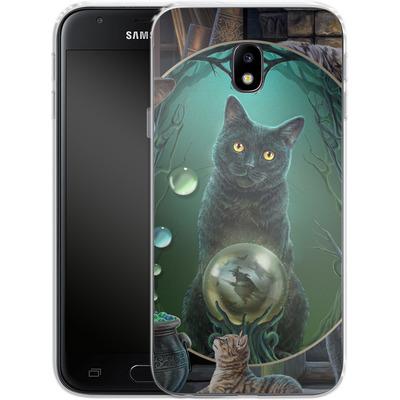 Samsung Galaxy J3 (2017) Silikon Handyhuelle - Magical Cats Montage von Lisa Parker