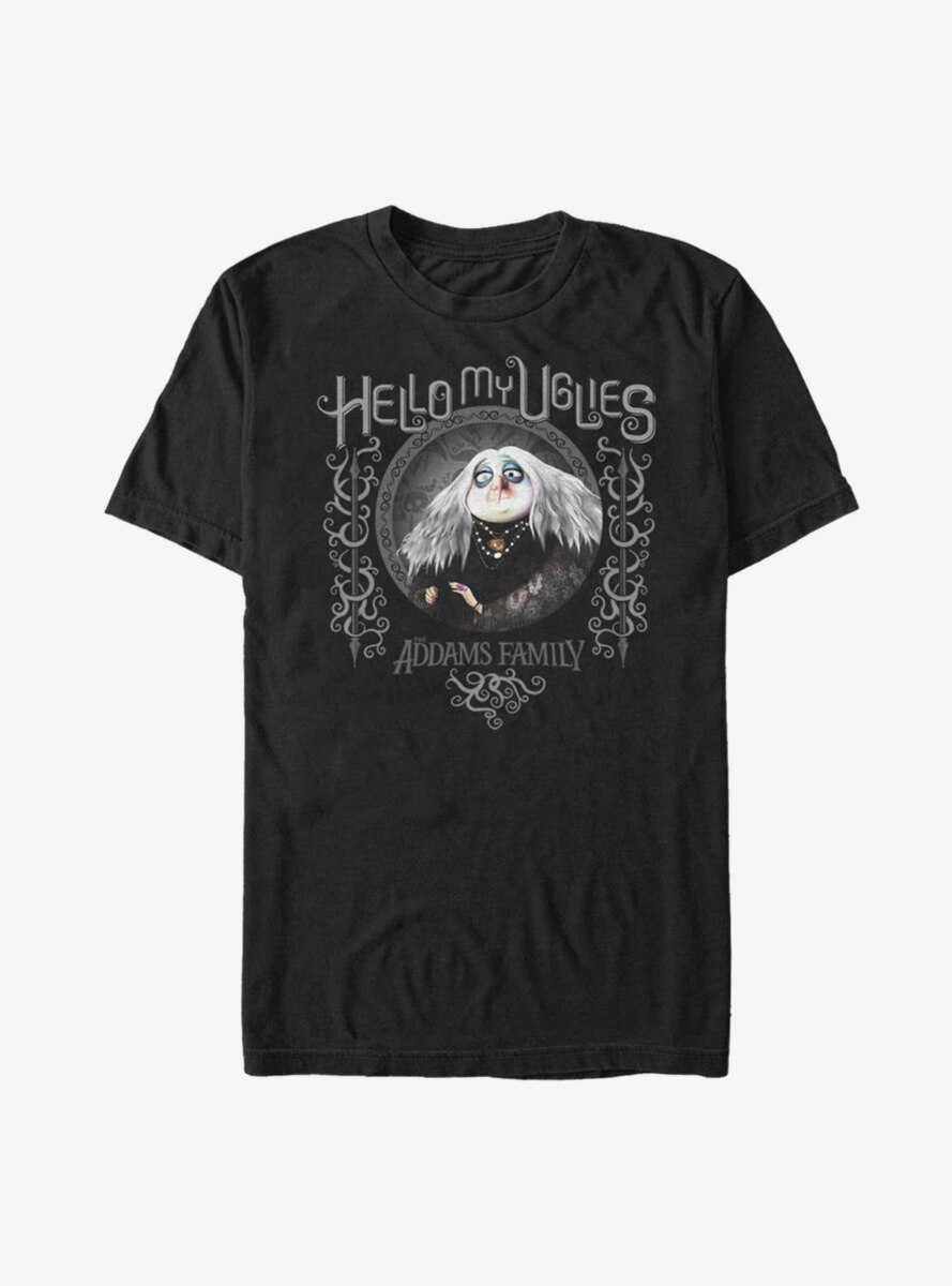 The Addams Family Hello My Uglies T-Shirt