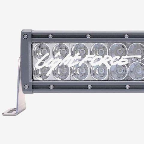 20 Inch LED Light Bar Dual Row Straight Combo Beam Lightforce