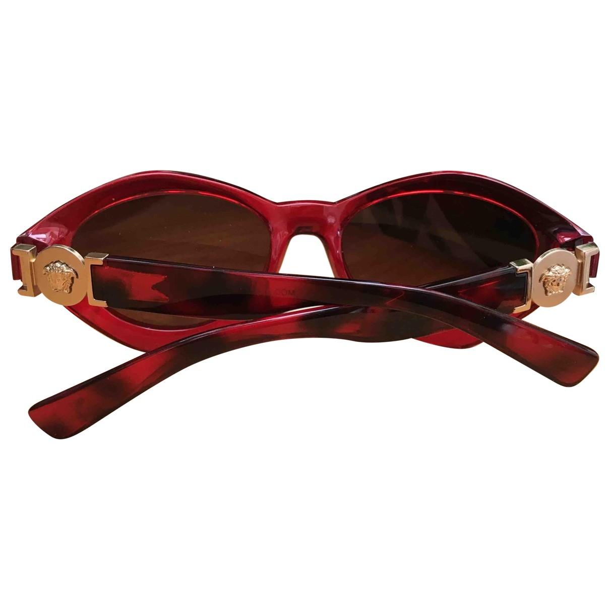 Versace \N Sonnenbrillen in  Rot Kunststoff