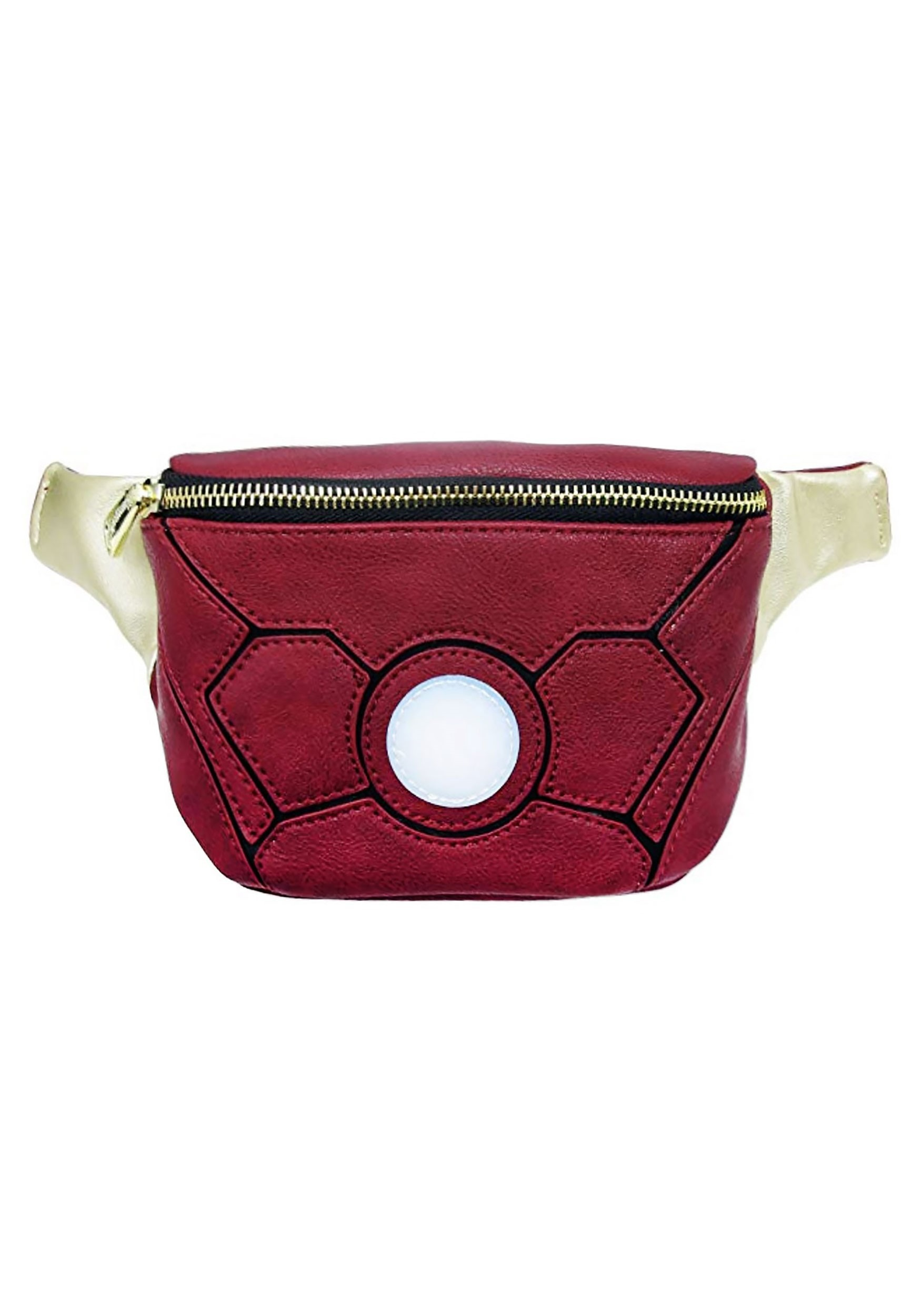 Marvel Iron Man Faux Leather Fannypack Loungefly